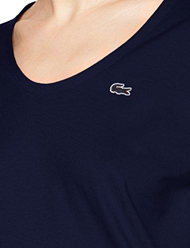 Lacoste Damen T-Shirt Blau (Marineblau)