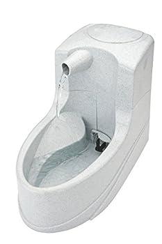 PetSafe - Petite Fontaine à eau pour Chat et Petit Chien Drinkwell Mini 1.2L, Jet Cascade, avec Filtre au Charbon, Débit Réglable, Anti-Odeur, Pompe Silencieuse, Facile à Laver, Idéale petits espaces