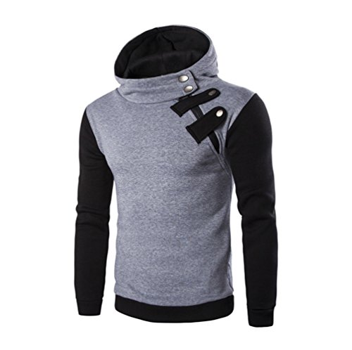 Men's Sweatshirt Sunday77 Hoodie Solid Patchwork Jacket for sale  Delivered anywhere in UK