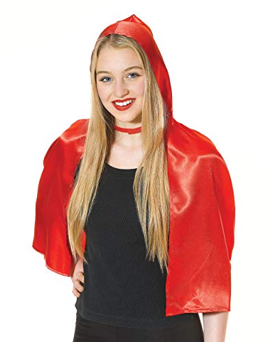 Halloween Red Riding Hood Cape costume Adult Fancy Dress