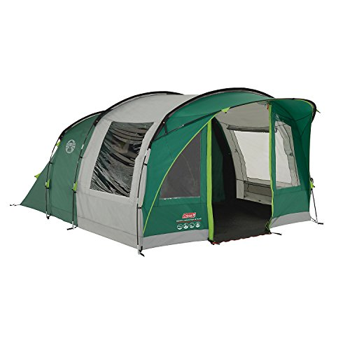 41ofUkmAQjL. SS500  - Coleman Rocky Mountain 5 Plus Family Tent, 5 Man Tent, Blocks up to 99 Percent of Daylight, 2 Bedroom Family Tent, 100 Percent Waterproof Camping Tent for 5 Person, Also Ideal to Camp in the Garden