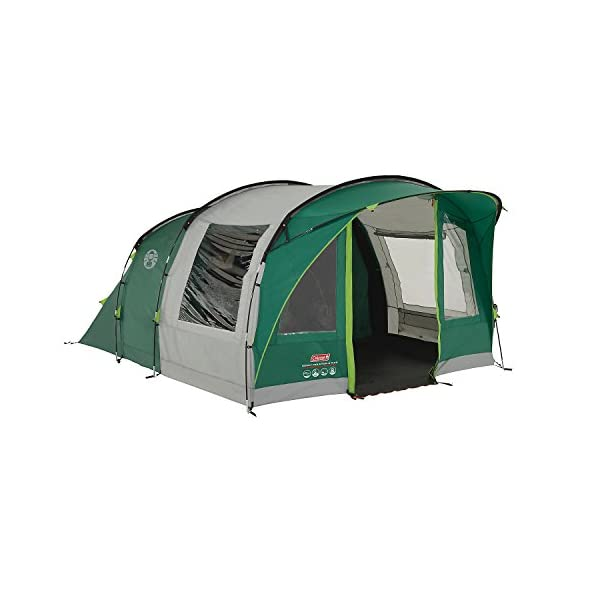 Coleman Rocky Mountain 5 Plus Tent - Green/Grey, One Size