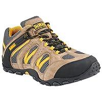 Dewalt Plane Classic Taupe Safety Shoes, Brown, 42 EU, 50053-127-42