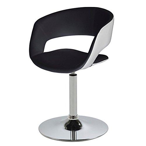 ac-design-furniture-0000057674-esszimmerstuhl-jack-sitz-rcken-lederlook-rckenteil-wei-schwarz
