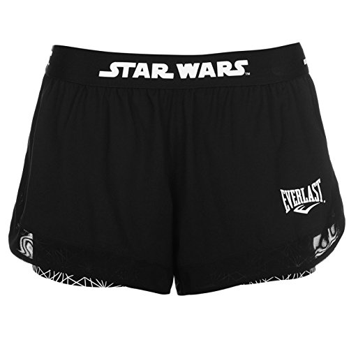 Everlast Damen Star Wars Shorts Sport Training Kurze Hose Atmungsaktiv Einsatz Star Wars 10 (S) (Baumwoll-shorts Everlast)