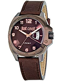Just Cavalli Herren-Armbanduhr Analog Quarz Leder R7251213002