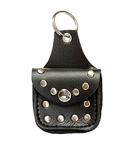 mini-genuine-leather-biker-studded-saddle-bag-keychain-by-allstate-leather