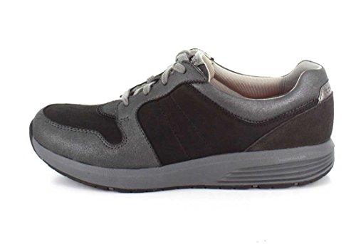Rockport - Derby Trainer Chaussures Femme Black Multi