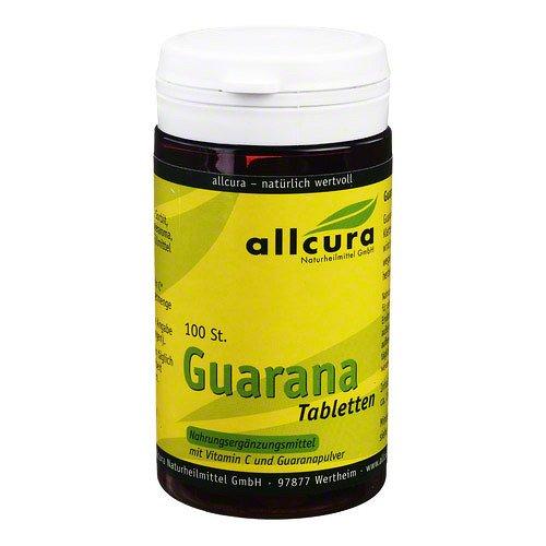 GUARANA TABLETTEN 200 mg Ext 100 St Tabletten