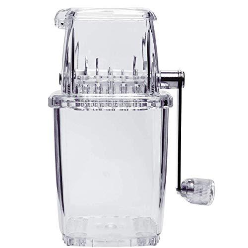 BSJZ Manuelle Eiscrusher Maschine Mit der Handkurbel können Sie überall EIS crushen ohne auf Strom angewiesen zu Sein