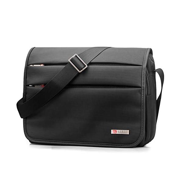 41ofYBoUx9L. SS600  - SPAHER Bolso de Hombro para Hombre maletín iPad Laptop Work Messenger Bolso de Negocios Escuela Crossbody Bolso de Mano…