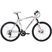 "KS Cycling Carnivore VTT Semi Rigide 27,5"" Blanc TC 51 cm"