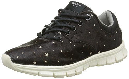 Pepe Jeans Coven Pony, Baskets Basses Fille
