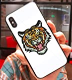 Art-design Coque iPhone X et XS Fashion Tigre Populaire G Silicone Souple Blanc