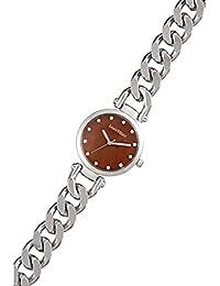 Reloj mujer Louis Villiers reloj 33 mm en steel rojo y pulsera plateado de metal al2927 – 04
