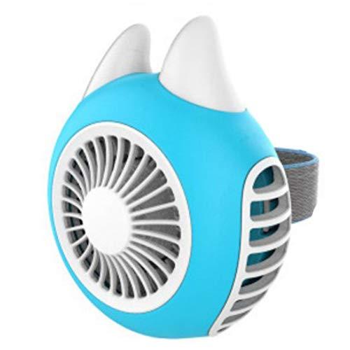 Getragen Reh (Leobtain Turbo Tragbare Mini Fan Conch USB Wiederaufladbare Tragbare leise Handheld Fan für Home Office Outdoor-Reisen Camping Auto)