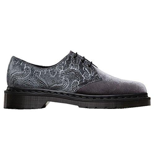 Dr. Martens - Dr. Martens Brocade Chaussures de Velours Gris