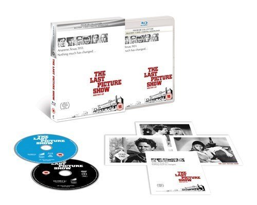 The Last Picture Show Directors Cut Limited Edition Blu Ray/Includes DVD + Art Cards/Import/Region Free Blu Ray