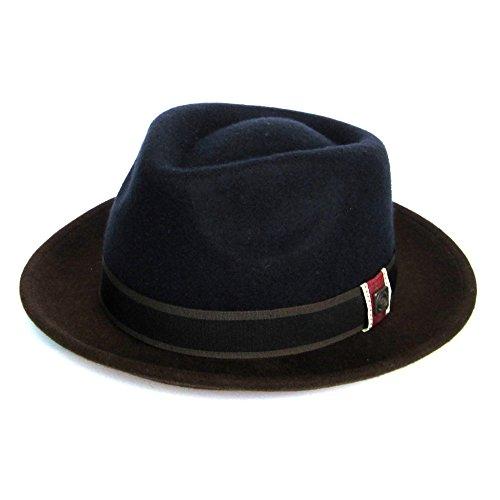 Dasmarca-Collection Hiver-déformable et Compressible-Chapeau en Feutre de Laine-Edwin