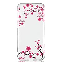 6City8Ni Crystal Bumper ClearCompatible with Samsung M10, Ultra Thin Gel Flexible Soft Slim Anti-Scratches Shock Absorption Silicone Colorful Animal Floral Flowers Cartoon TPU Elastic Protective