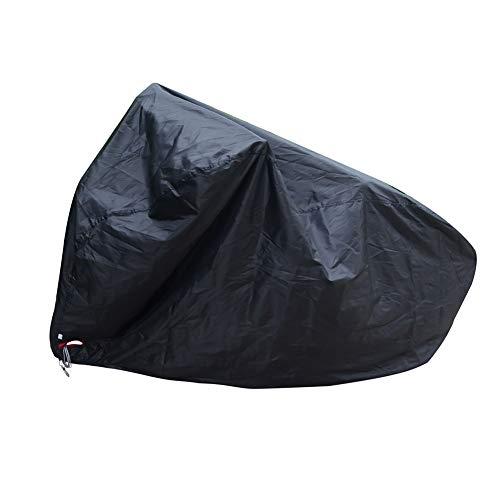 YXX- Couvertures de meubles Couvertures de bicyclette de stockage imperméables extérieures pour 1 vélo, couvertures de protection de bicyclette pour la poussière UV de neige de pluie