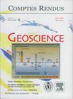 Comptes Rendus Académie des Sciences, Geoscience, Tome 337, Fasc 4, Mars 2005 Incertitudes Scientifi par Petit Michel
