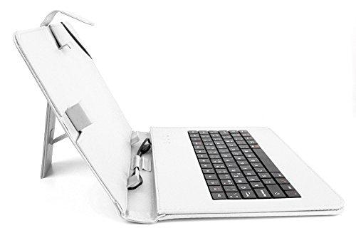 Funda atril con teclado español para tablets de 10 pulgadas