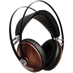 MEZE - 99 Classics - Casque fermé Audiophile - Noyer Massif - Finition Argenté