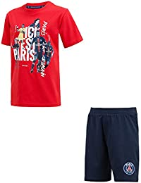 2d98df9ec47 PARIS SAINT GERMAIN Pyjashort Pyjama PSG - Collection Officielle Taille  Enfant