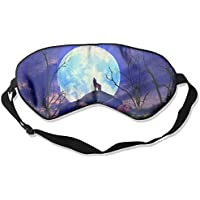 Moon Wolf Artwork Sleep Eyes Masks - Comfortable Sleeping Mask Eye Cover For Travelling Night Noon Nap Mediation... preisvergleich bei billige-tabletten.eu
