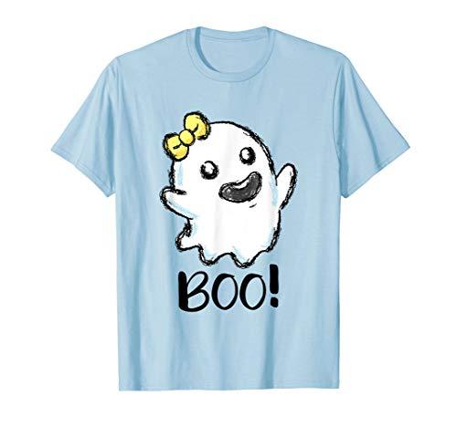 Spuk Geist Kostüm - Boo Geist Halloween Kostüm kleines Gespenst Spuk Geister T-Shirt