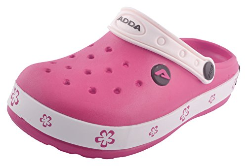 ADDA Kids' Pink Outdoor Sandals - 6 UK  available at amazon for Rs.350
