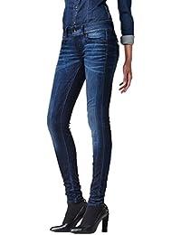 G-Star Damen Jeans Midge Cody Mid Waist Skinny Fit - Blau - Medium Aged, Größe:W 26 L 36;Farbe:Medium Aged (071)