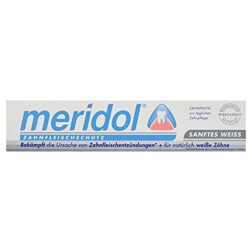 meridol Sanftes weiss Zahnpasta, 75 ml