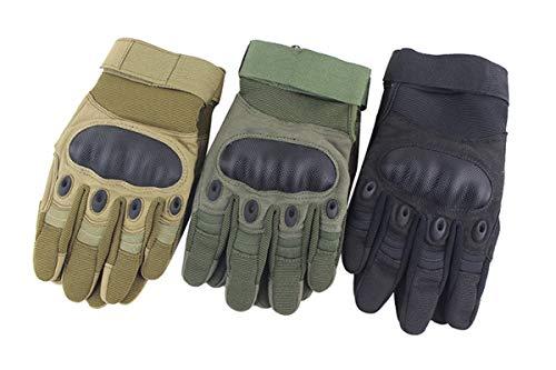 andschuhe Männer Fitness Handschuhe Pads Fitness Handschuhe Vollfinger Herren Handschuhe Touchscreen Fitness Handschuhe Rutschfest Marine Blau S ()