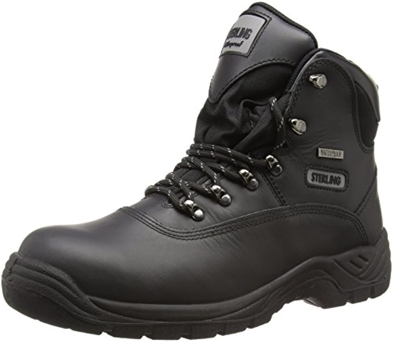 Sterling Safetywear Sterling Steel SS812SM SS812SM - Botas de cuero para hombre