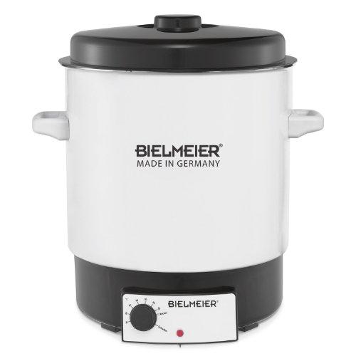Bielmeier 680023 Einkoch-Halbautomat 29 Liter  Emaille  weiß  ohne Auslaufhahn  2000 W