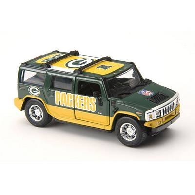 green-bay-packers-2005-nfl-limited-edition-die-cast-143-h2-hummer-collectible-by-fleer