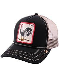 Casquette Trucker Goorin Bros Rooster Noire - Mixte