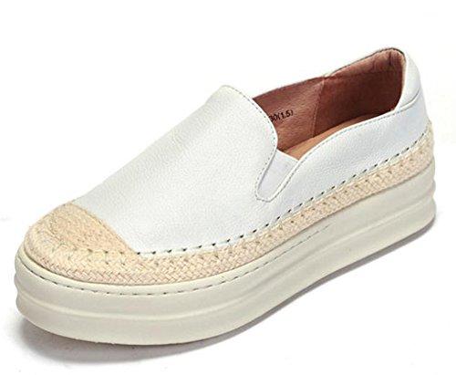 YTTY Runde Kuchen Lok - Schuhe Weiße