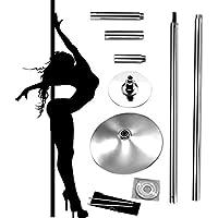 Profi Pole Dance Tanzstange 45mm GoGo Tabledance Static + Spinning