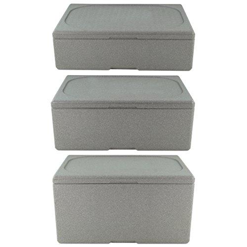 Thermobox Isolierbox Kühlbox Styroporbox Warmhaltebox Transportbox für 1/1 GN von 65mm bis 200mm Tiefe