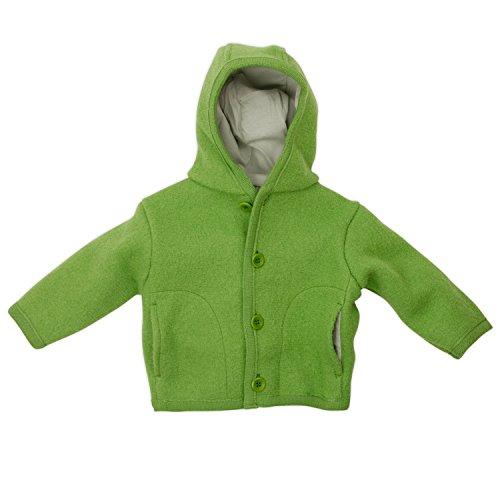 5386163422e3 Disana 32309XX - Walk - Jacke Wolle grün, Size   Größe 110 116 ...