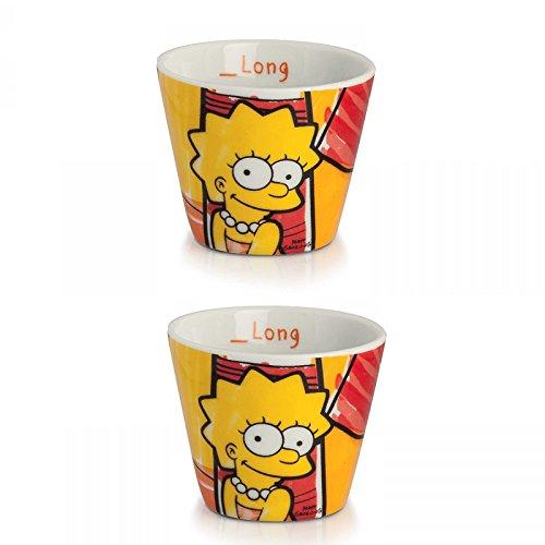 Set 2 bicchierini caffè Lisa - I Simpson - Egan