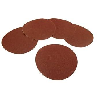 Abrasif Pad Lot de 5. 15 cm, Grain 240