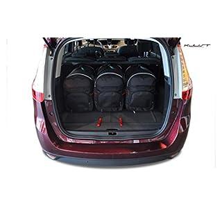 Auto Taschen Renault Grand Scenic III 2009-2013 5STK KOFFERRAUMTASCHEN CARBAGS