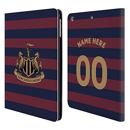 Head Case Designs Personalisierte Individuelle Newcastle United FC NUFC Away Kit 2018/19 Crest Brieftasche Handyhülle aus Leder für iPad Air (2013) -