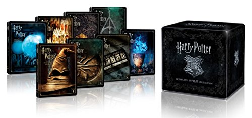 Harry Potter l'intégrale des 8 films - Edition limitée Steelbook - Le monde des Sorciers de J.K. Rowling - Blu-ray [Édition limitée 8 SteelBooks et coffret SteelBook inédit ? Le Monde des Sorciers de J.K. Rowling]