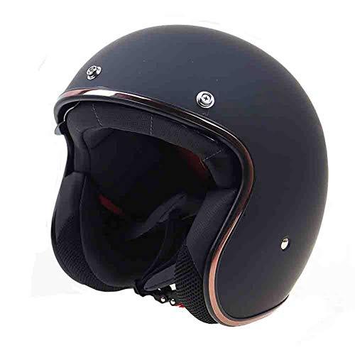 orradhelm mit Hut Zunge Motorradhelm Eingebaute Sonnenbrillen Motocross Helme Moto Safety Caps ()