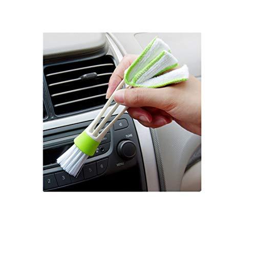 Idiytip Auto Klimaanlage Steckdose Reinigungsbürste Armaturenbrett Weiche Bürste Staubbürste Innenraum-Reinigungsmittel Werkzeuge Tastatur Blindbürste Autozubehör